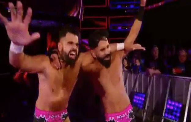 The Singh Brothers vencen a The Lucha House Party en 205 live