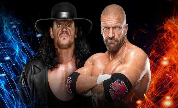The Undertaker vs Triple H Super Show Down