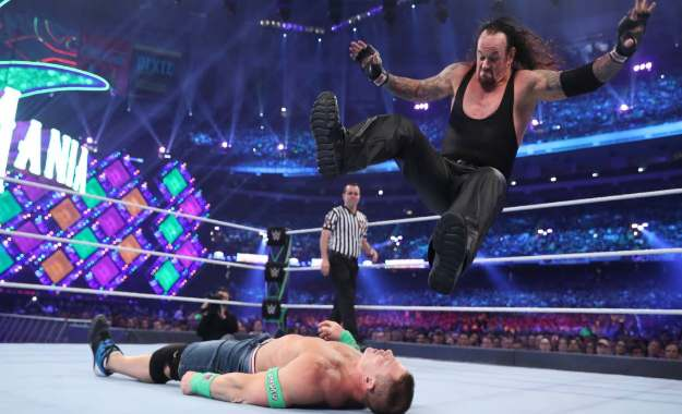 The Undertaker vs. John Cena Wrestlemania