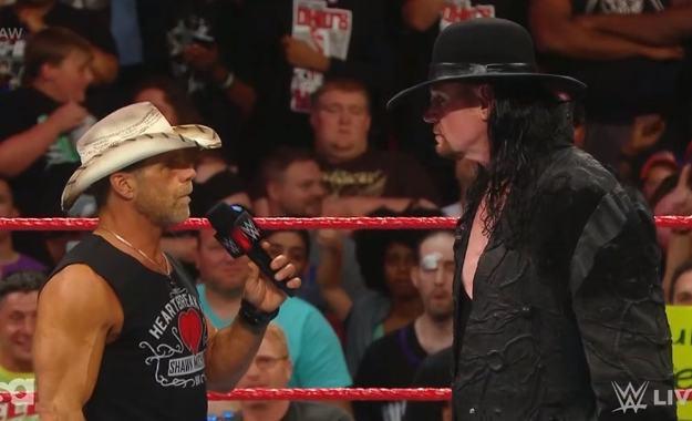 The Undertaker vuelve a RAW interrumpiendo a Shawn Michaels