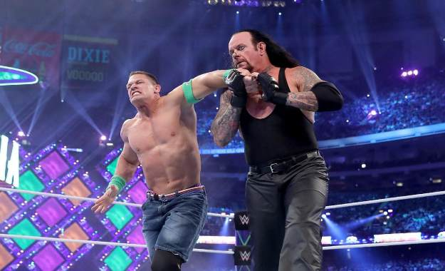 The Undertaker y John cena no se enfrentarían en WWE Summerslam 2018