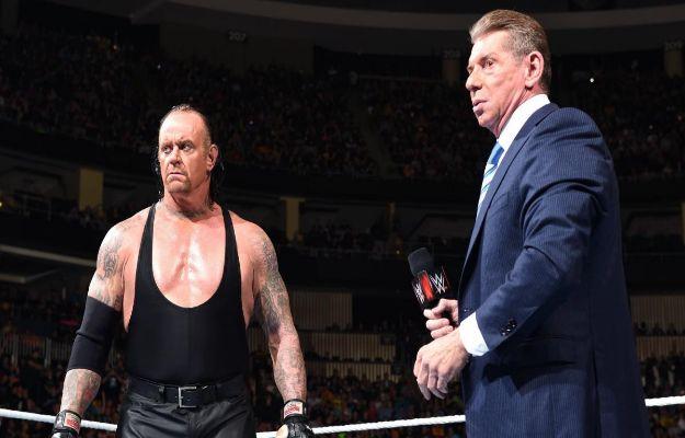 The Undertaker y Vince McMahon
