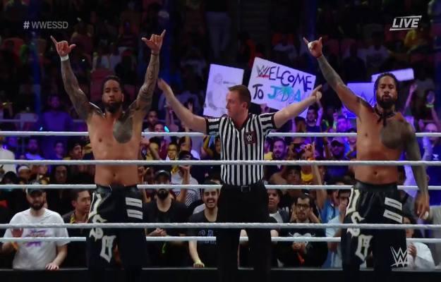The Usos WWE Super ShowDown
