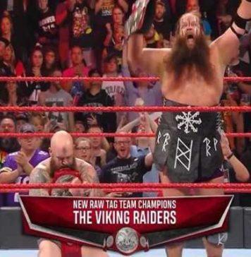 The Viking Raiders nuevos campeones de parejas de RAW