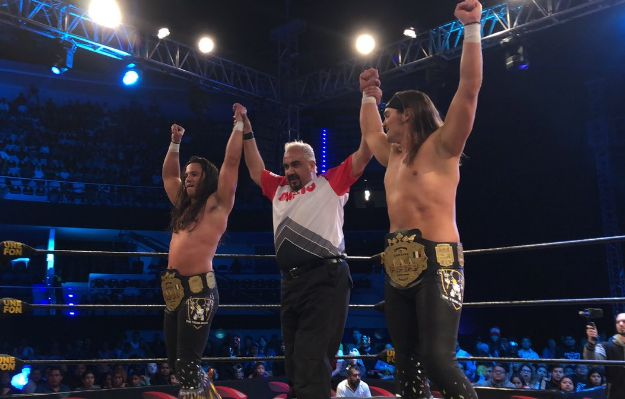 The Young Bucks triple aaa