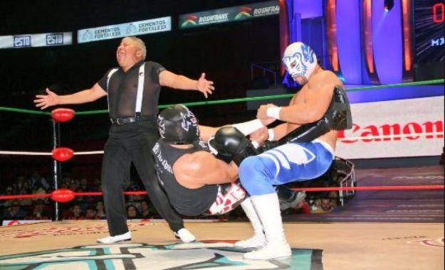 Tirantes sale del CMLL