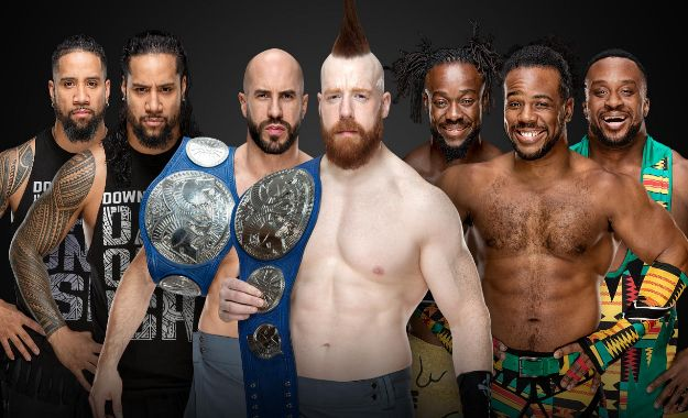 Titulo de parejas de Smackdown en TLC