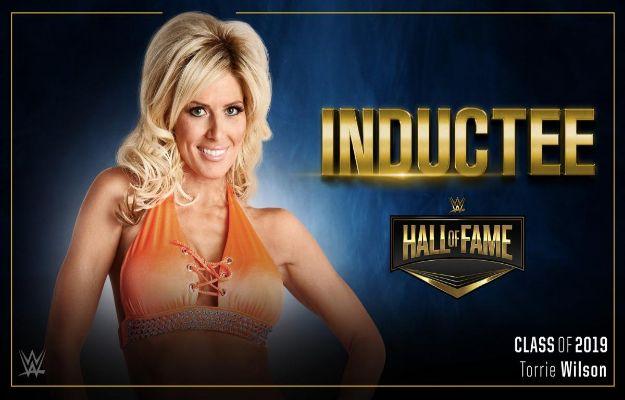 Torrie Wilson WWE Hall of Fame