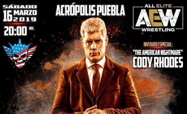 Triple A Rey de Reyes Cody Rhodes