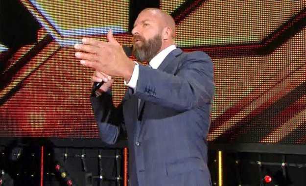 Triple H estará en el backstage de NXT Takeover War Games II