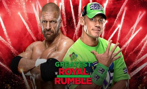 Triple H vs John Cena en The Greatest Royal Rumble