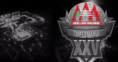 Triplemanía XXV: Revelada la cartelera del gran evento de Triple A completa