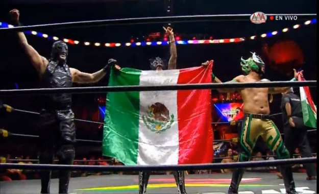 Triplemania 27_ The Lucha Brothers derrotan a The Elite