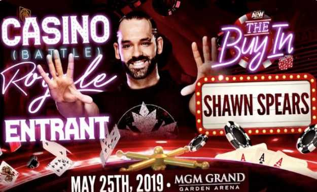 Tye Dillinger luchará en la Casino Battle Royal de AEW Double or Nothing