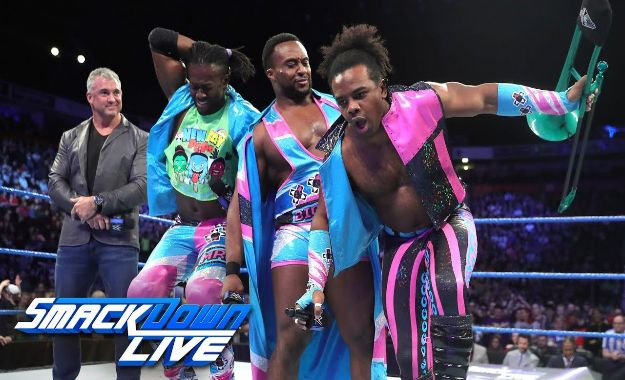 Un miembro de New Day clasificado para Money In The Bank