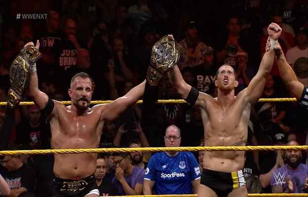Undisputed Era nuevos campeones tag team WWE NXT