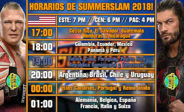 Ver wwe summerslam 2018 en vivo
