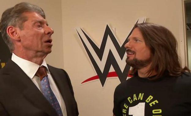 Vince McMahon fue el creador de su segmento con AJ Styles