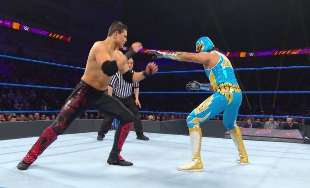 WWE 205 Live 22 de enero