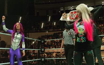 Sasha Banks vs Alexa Bliss WWE Abu Dhabi