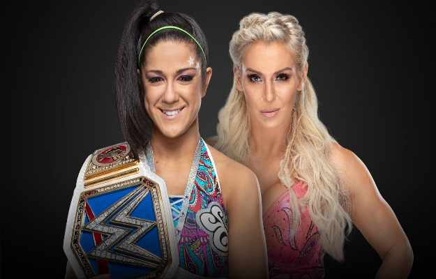 WWE Clash Of Champions Bayley Charlotte Flair