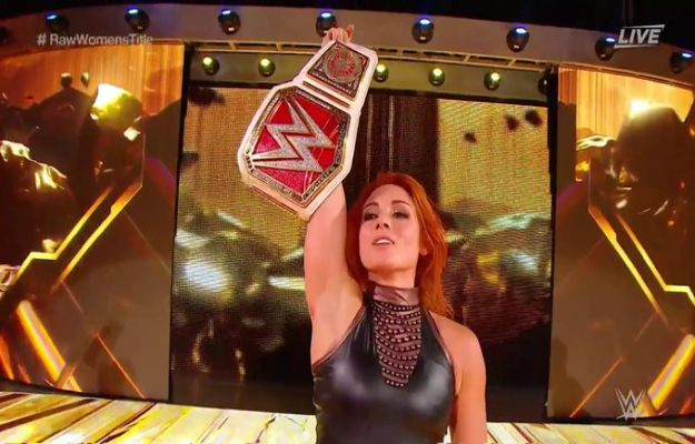 WWE Clash of Champions_ Sasha Banks derrotó a Becky Lynch por DQ