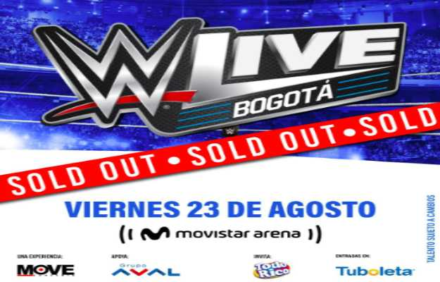 WWE Colombia WWE Bogota