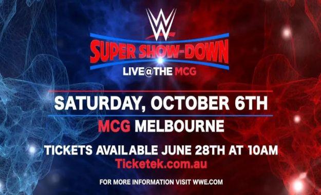 WWE Confirma un gran show en Australia en el mes de Octubre