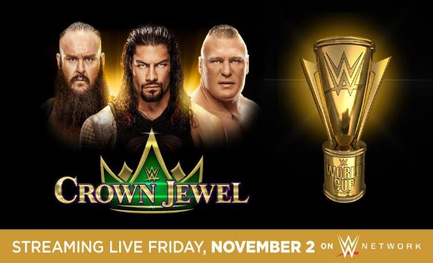 WWE Crown Jewel sigue en marcha