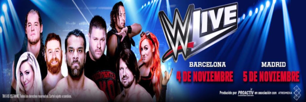 WWE Madrid 2017