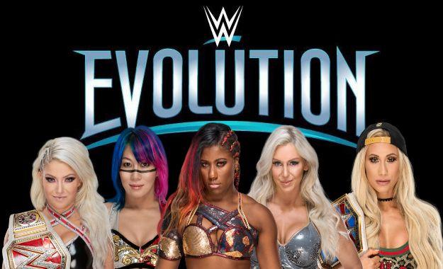 Las luchadoras de ECW Beulah y Francine en el PPV de WWE