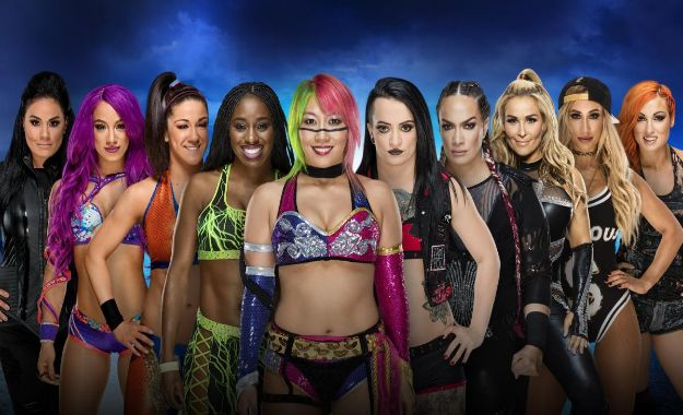 WWE Evolution podría celebrar un combate Royal Rumble