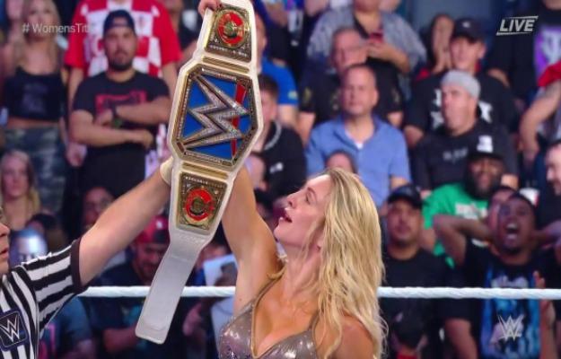 WWE Hell In A Cell 2019_ Charlotte Flair gana el título femenino de SmackDown
