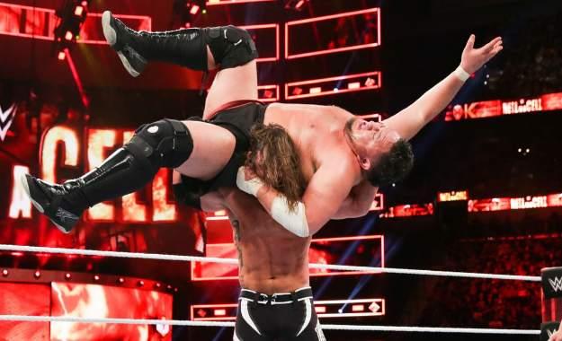WWE Hell in a Cell 2018 Samoa Joe vs AJ Styles