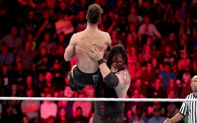 WWE Kane ganó a Finn Balor