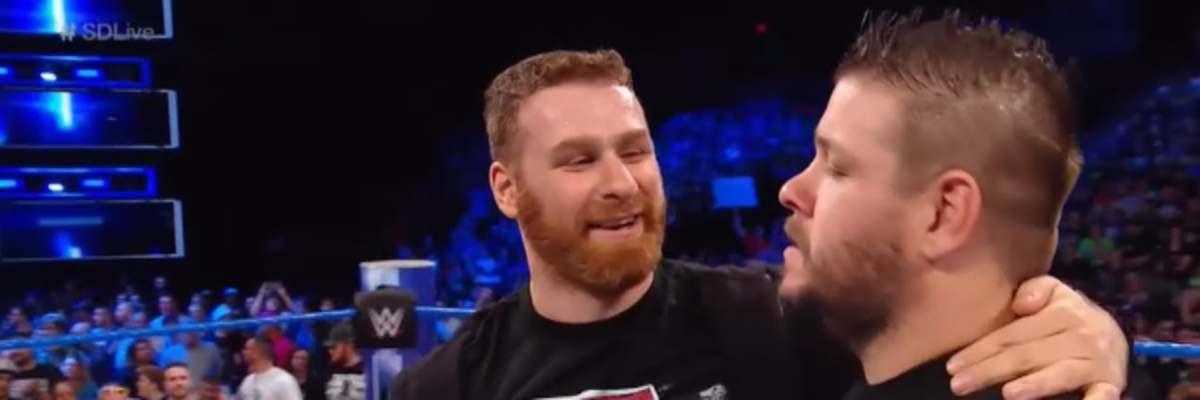 WWE Kevin Owens y Sami Zayn