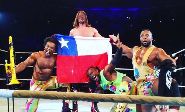 WWE Latinoamérica WWE vuelve a Chile