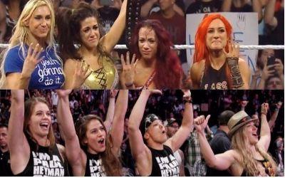 WWE MMA Horsewomen