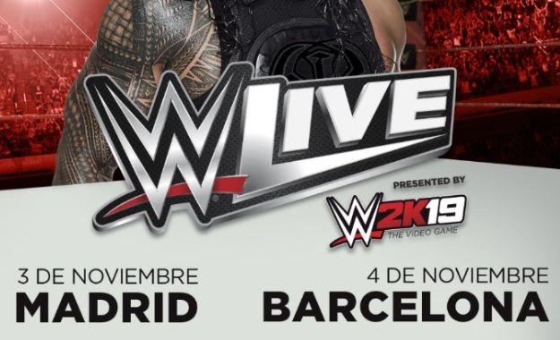 Cartelera actualizada para los WWE Live de Madrid y Barcelona