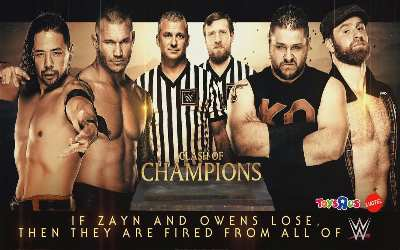 Cartelera WWE Clash of Champions 2017