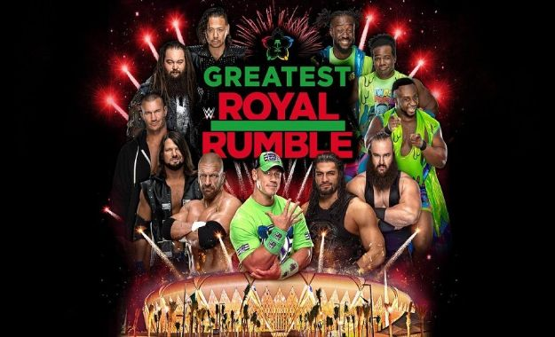 WWE cambiando fechas en Europa para hacer el evento de Arabia Saudí.