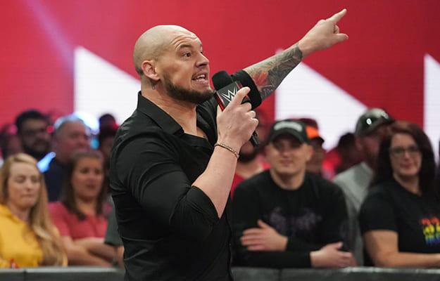 WWE Noticias Vince empuja a Baron