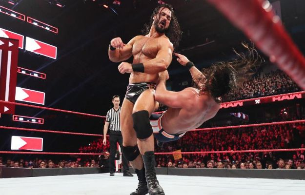 WWE RAW 18 marzo