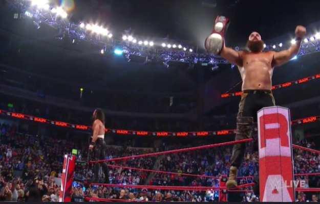WWE RAW Braun Seth