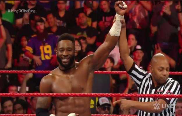WWE RAW King Of The Ring Cedric Alexander