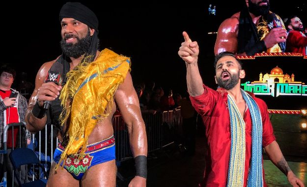 WWE RAW Live show