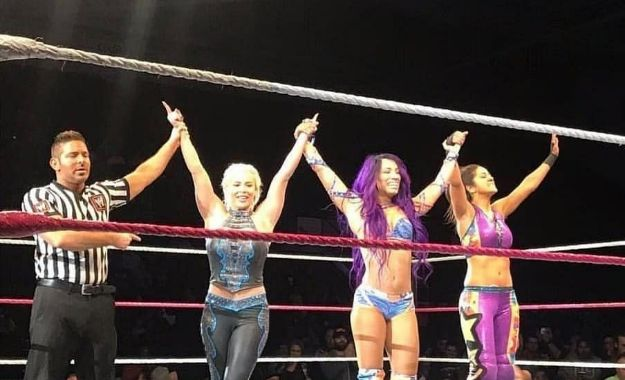 WWE RAW Portland