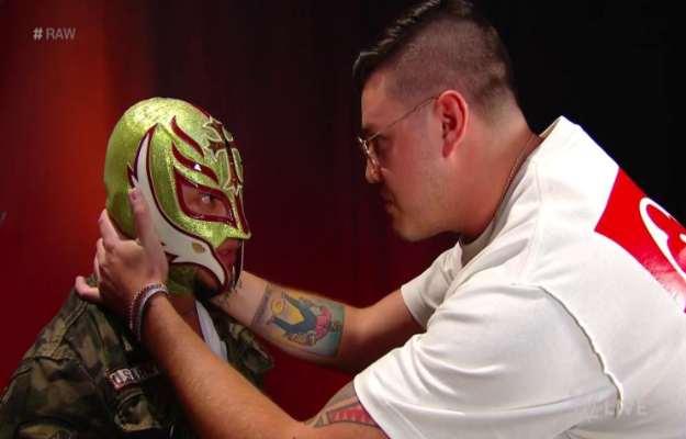 WWE RAW Rey Mysterio Dominick