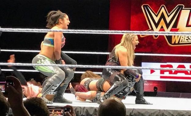 WWE RAW Saskatoon