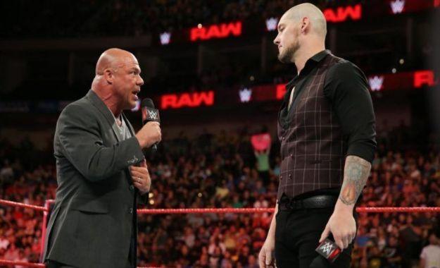 WWE Reconsidera Kurt Angle contra Baron Corbin en WrestleMania
